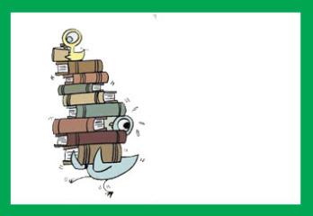 کندوی کتاب پارچه ای